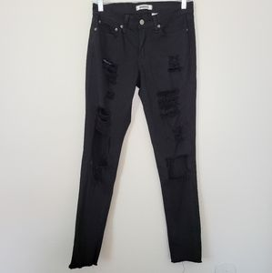 Aphrodite black distressed jeans 7